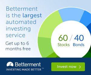 Betterment 6 Months free