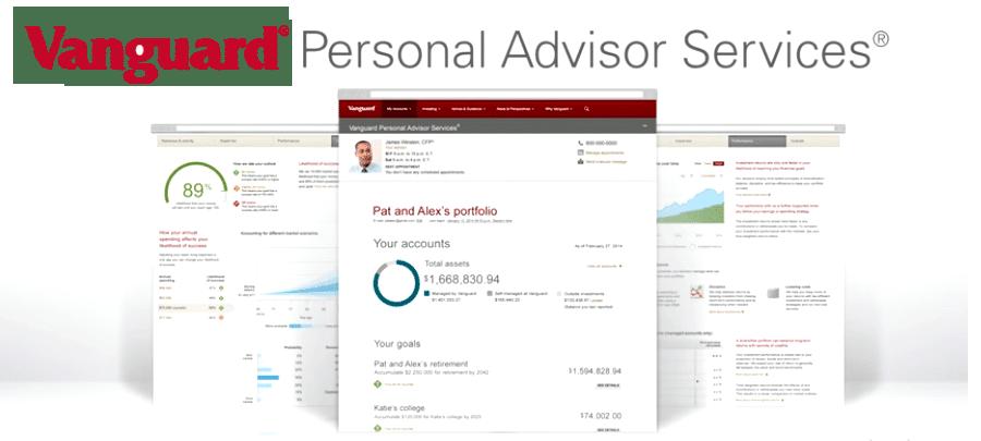 Vanguard PAS screens