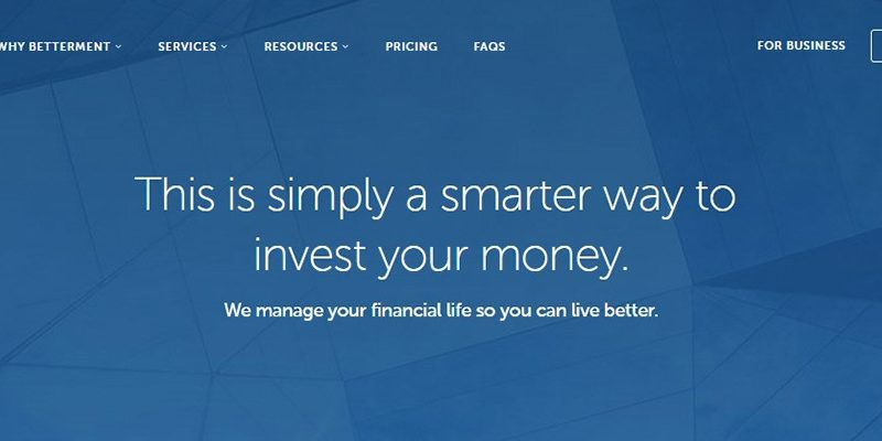 betterment Scr 1 64664 800x400 - 2020 Betterment Review - Automated Robo Advisor with a Human Touch