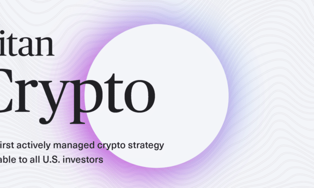 Titan Launching First-Ever Actively-Managed Crypto Investment Product