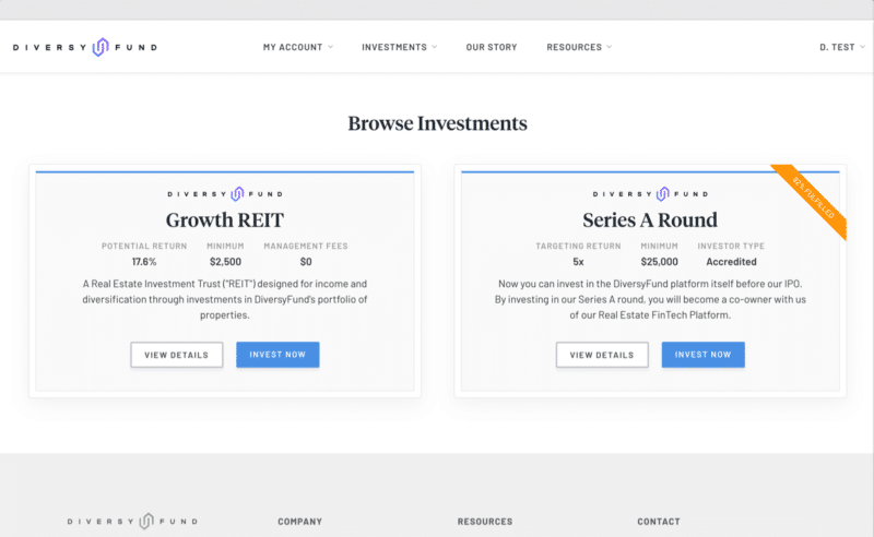 DiversyFund Review 2021: Pros, Cons, and Who it's Best For 3